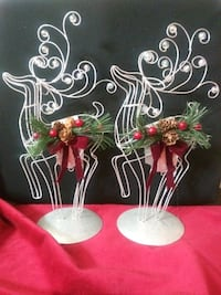 2 decorative reindeer El Paso, 79925
