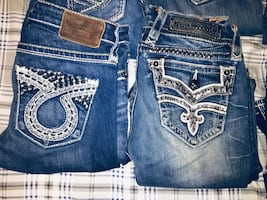 WOMENS ROCK REVIVAL JEANS AND BIG STAR