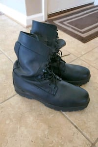 Mens Military Bates steel toe leather boots size 14m Chesapeake, 23323
