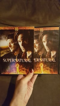 two Supernatural DVD cases Chillicothe, 45601