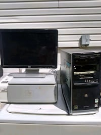 Hp flat screen computer work in great condition Richmond, 23231
