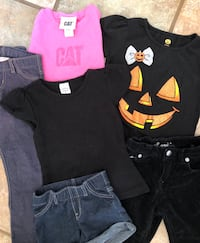 3 girl's outfits 3-4T Levi's, Cat & Jack Tuscaloosa, 35404