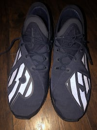 pair of black-and-white Nike basketball shoes Bay Shore, 11706