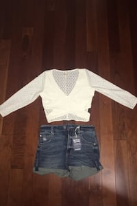 Brand new top and shorts total $5 Toronto, M1J 3J9
