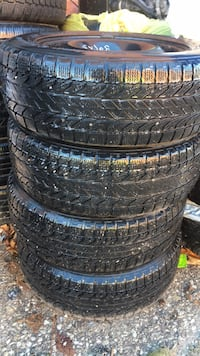 4 winter tires with rims 205/60/16