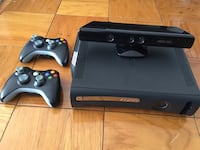 Xbox 360 120 gb , 2 controls and ki-net Washington, 20024