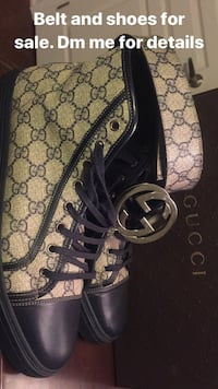 Gucci belt and shoes  Vaughan, L4H