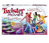 NEW Twister Moves Musical Dance Game(box opened but never used and contents in plastic ) Norman, 73071