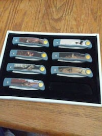 (7) Wildlife knife collection Chillum, 20783