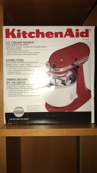 red and white Kitchen Aid stand mixer box Falls Church, 22043