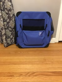 Soft portable dog crate