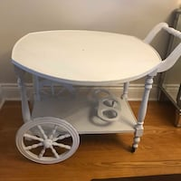 VIntage Tea Cart   Measurements: 24 X 30 X 33 inches (30 wide with the table open to the sides)  Smoke and pet free home!  Well taken care of.   VIEW MY OTHER ADS!!! Toronto