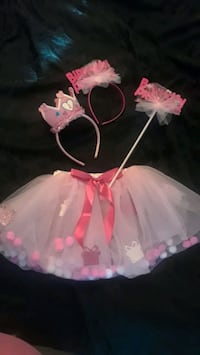 Baby girl 1st birthday decorations plus outfit Brampton