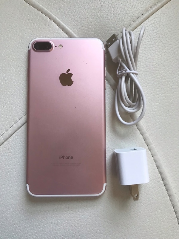 FactApple iPhone 7 plus, Sold with warranty works with T-Mobile, Metropcs,  simple mobile, lyca, ulta mobile, go smart, straight talk , famaily mobile