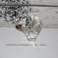 Orient & Flume Glass Elephant Brandon