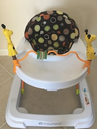 Pack and play and baby walker selling together (brand new)
