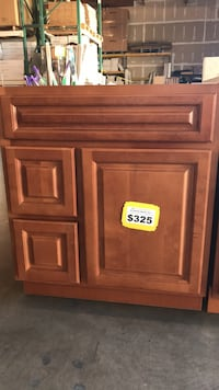 """30"""" Toasted Brown Bathroom Cabinet Only! * BRAND NEW! * Phoenix, 85009"""