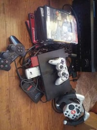 Sony PSP console with controller and game case set Surrey, V3W