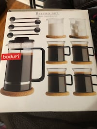 Bnib bodum French press coffee  New Tecumseth, L9R 1L1