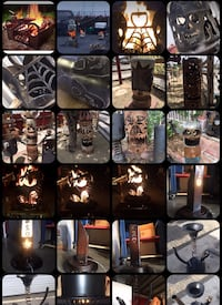 Kustom metal art work, fire pits & more..