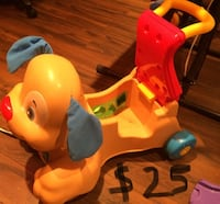 Toddler's yellow and red ride on toy Saint-Eustache, J7R 6X9