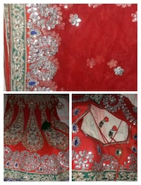 red and white floral textile New Delhi, 110043
