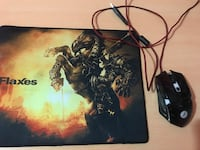 Frisby x5 makro mouse ve mouse pad