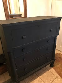 black wooden 3-drawer chest Vienna, 22180