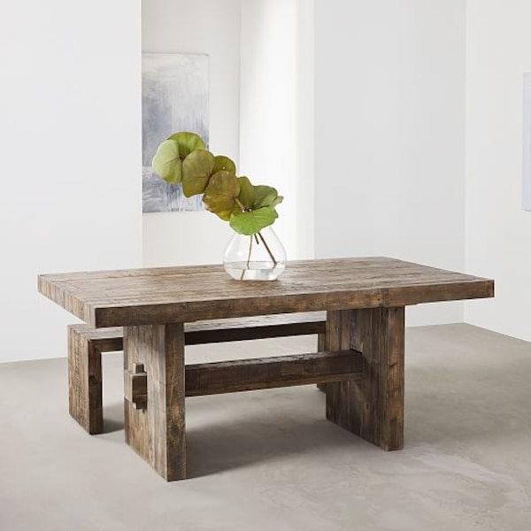 West Elm Reclaimed Dining Table Emmerson 62 Like New 650