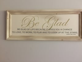 Quote by Henry Van Dyke wall hanging