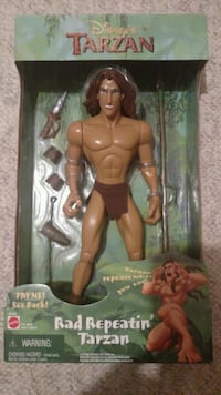 Vintage Disney Tarzan action figure Taneytown, 21787
