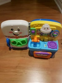 Fisher-Price musical learning kitchen toy set Vaughan, L4H