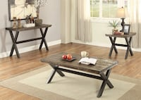 Weathered grey table set  Snellville