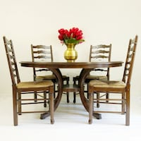 """60"""" Dining Table Set Sterling, 20165"""
