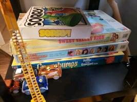 90's board games sweet valley high and the baby sitters club 25 each