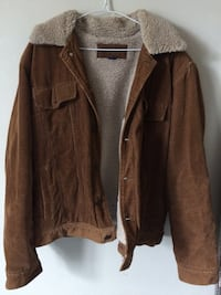 brown leather zip-up jacket London, N5V 1W5