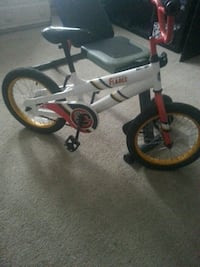 white and red BMX bike Edmonton, T5T