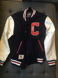 Criminal Damage varsity jacket (S)