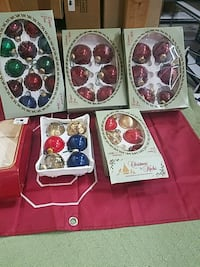 assorted-color Christmas bauble lot Tulsa, 74115