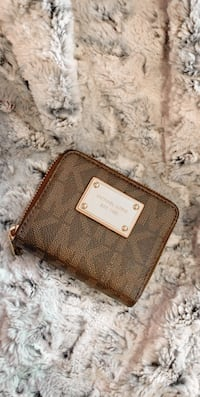 Michael kore brown wallet