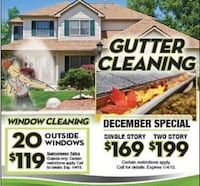 Gutter cleaning 254 mi