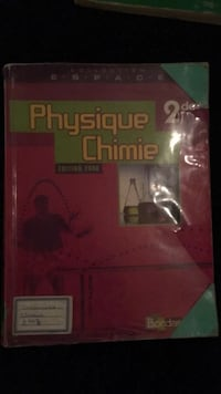 Livre Physique Chimie Strasbourg, 67000