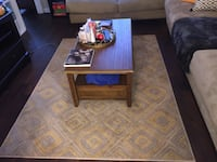Tan and Yellow Area Rug