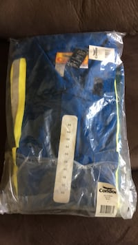Flame retardant, high vis coveralls. Never opened