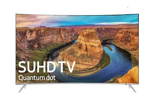 "Samsung 55"" 4k curved smart tv"