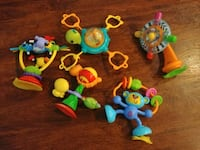 Infant high chair toy lot Round Rock, 78681
