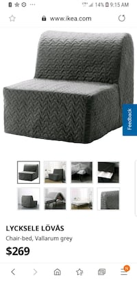 IKEA CHAIR TURNS INTO BED Grimsby, L3M 3K6