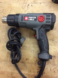 Porter and cable heat gun PC1500hg used corded 847900-2