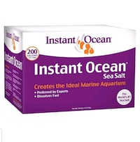 Instant ocean sea salt 200gal Baltimore, 21202