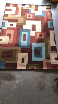 white, brown, and black area rug Jacksonville, 32256